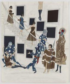 Marcel Dzama, Shall We Venture Outside on ArtStack #marcel-dzama #art