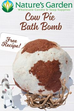 Free Cow Pie Bath Bomb Recipe by Natures Garden