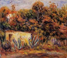 Pierre Auguste Renoir Cabin With Aloe Plants oil painting reproductions for sale