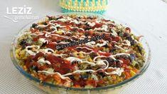 Borcamda Ev Yapımı Kumpir (Muhteşem Lezzet) - Leziz Yemeklerim Tuna, Vegetable Pizza, Quiche, Iftar, Kfc, Pesto, Vegetables, Breakfast, Food
