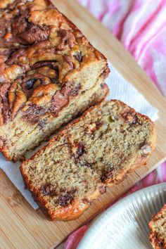 PB Nutella Banana Bread - I could do without the peanut butter in this (I like my peanut butter straight up) but I love the idea of swirling some Nutella through the cake. Mmmm!