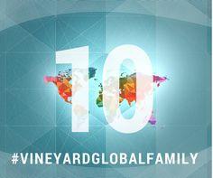 10 Days until #VineyardGlobalFamily