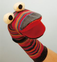 Elabora marionetas con calcetines con tus pequeños este fin de semana