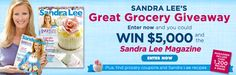 I just entered The Valpak and Sandra Lee Great Grocery Giveaway! Check it out - http://www.valpak.com/coupons/showContest/372