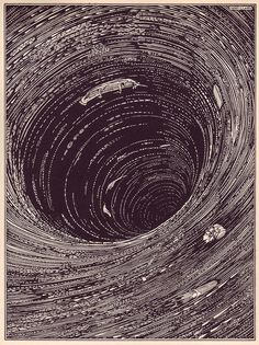 Gorgeous illustrations by Harry Clarke from 1919 deluxe edition of Edgar Allan Poe's Tales of Mystery and Imagination