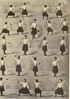 Female fencers