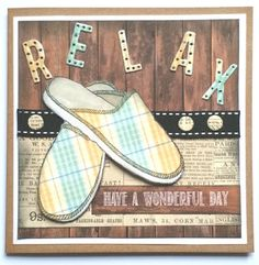 Barb's Faraway Cards: Relax!
