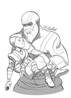 Kratos God Of War, Videogames, Dads, Video Games, Fathers, Video Game