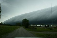 "A scary looking Shelf Cloud is commonly mistaken for a ""funnel"". They do bring high winds though."