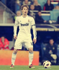 Sergio Canales froma REAL MADRID.