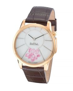 Rosenthal Rose Gold Cherry Blossom 3035-5 Ladies Watch 659ed18e4e