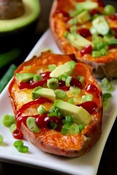 These easy Baked Egg Stuffed Sweet Potatoes are a perfect choice for those nights (or mornings, or afternoons!) where you don't have a lot of time or energy to put into cooking. Serves 4 - no cheese, but avocado (for Phase 3 and I-Burn), sauteed red bell peppers (for D-Burn), or salsa and green onions (for Phase 1) are all great topping ideas.