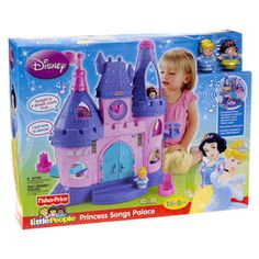 Fisher Price Little People: Disney Princess Songs Palace
