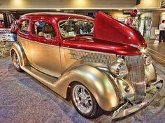 1936 Ford Tudor Slantback Sedan