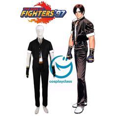 King of Fighters97 Kyo Kusanagi Fighting Uniform Cosplay Costume  #KingofFighters97 #KyoKusanagi #Cosplay #Costume
