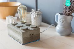 "concrete lamp ""The Brick"""