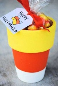 25 Candy Corn Projects to Brighten Your Day - Candy Corn Pot