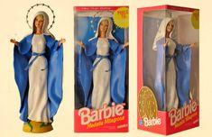 Barbie come la Vergine Maria o Giovanna D'arco, Ken che veste i panni di Gesù o San Sebastiano. E' la provocazione di due artisti argentini, Pool Paolini e Marianela Perelli, che sulla loro pagina Facebook hanno pubblicato le loro creazioni: bambole ispirate alla religioni di tutto il mondo.