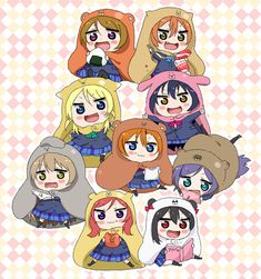 Himouto! Umaru-chan x Love Live one of the best things ever
