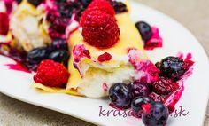 Recept: Palacinky na slano aj sladko s tvarohom alebo mascarpone – dokonalé cesto je základ Pancakes, Breakfast, Food, Hampers, Mascarpone, Lasagna, Morning Coffee, Essen, Pancake