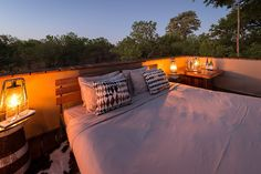 Savuti Camp has had a stylish revamp to its main deck, lounge and guest tents. No change to the amazing wildlife sightings though, as epic as ever. Tents, Wilderness, Safari, Wildlife, Fair Grounds, Africa, Deck, Lounge, Camping