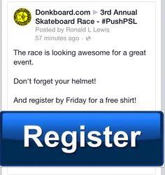 Who's ready?  www.DonkBoard.com  #longboard #halfMarathon #5k #skateboardrace #skateboard