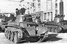 The Bt was a Soviet light cavalry tank which also called a Betka. It was used in the Spanish Civil War, Soviet–Japanese Border Wars, and the early part of World War II. Seven hundred and ninety Bt-7's were built.