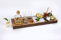 Tequila Buffet is a Portable Bar - foodista.com