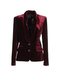 D VELVET CRUSH Blazer - Lyst This wou ld make a cozy winter blazer :)I have something similar but this is a little longer Velvet Blazer, Velvet Jacket, Holiday Fashion, Autumn Winter Fashion, Purple Blazers, Burgandy Blazer, Burgundy, Punk Jackets, Outerwear Jackets