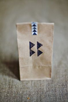 geometric | kraft bags