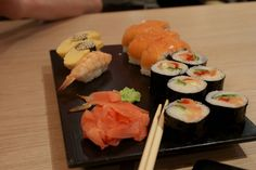 How to lose weight eating sushi