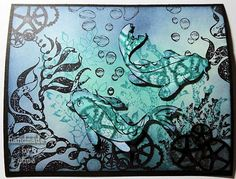 cbee's cards and more: Under Water steampunk