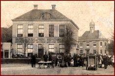 Dit is zo de oudste foto die ik kan vinden van het   hotel. Met de toenmalige benaming:  HOTEL van OUDS de PRINS. WED H.TAMBOER