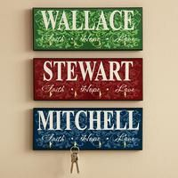 Personalized Fath Hope And Love Keyholder Housewarming Gifts Engagement