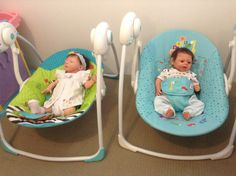 My twins silicone babies, Sofia & Andhika