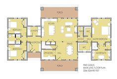 2 Bedroom House Plans with 2 Master Suites - Best 2 Bedroom House Plans with 2 Master Suites Pictures, New House Plan Unveiled Home Interior Design Ideas House Plans 2 Bedroom House Plans, Garage House Plans, House Plans One Story, New House Plans, Story House, Small House Plans, The Plan, How To Plan, Home Design