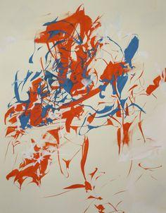 Kim Piotrowski Orange, Blue & White