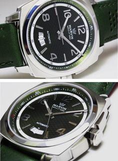 【楽天市場】MARVIN【マーヴィン】MALTON 160 自動巻き腕時計/マーヴィンの中で人気のモデルです!/雑誌掲載モデル:加坪屋(かつぼや)