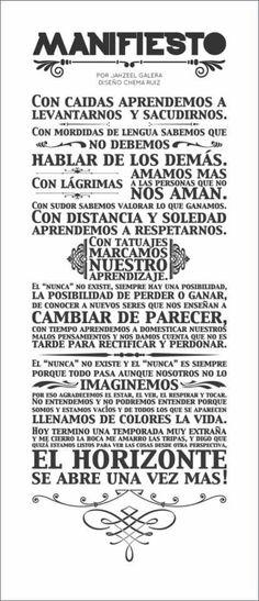 Manifiesto!!!