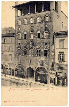 1904: Palazzo Davanzati on Via Porta Nuova
