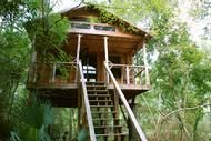 South Carolina treehouse camping. rustic. canoe in 14 miles. canoe out 10 miles. private wildlife refuge.