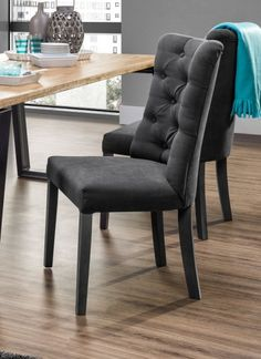 Pikowane krzesło Vanity Dining Bench, Dining Chairs, Vanity, Furniture, Design, Home Decor, Dinner Room, Chair, Dining Rooms