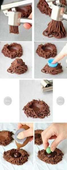 Fondant Nest Tutorial