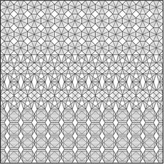 Tessellation in Folded 3D by Junix Alcayaga, via Behance