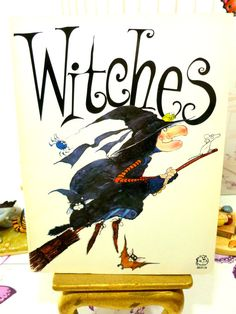Witches by Colin Hawkins Humorous Childrens Comic Spooky Book about Witches and their lifestyles and history