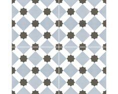 Gresie interior glazurată Howard Blue 45x45 cm pret mic la HORNBACH Shops, Quilts, Blanket, Retro, Interior, Blue, Tents, Quilt Sets, Design Interiors