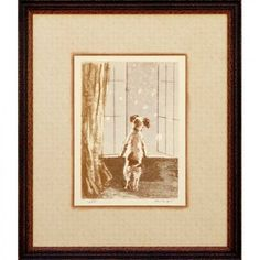 Phoenix Galleries Puppy - Where Are You Framed Print - HP525