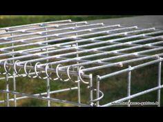 Montage de gabion - exemple de réalisation en gabions - gabion wall - gabionen -Tendance Gabion - YouTube