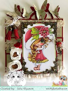 Hello Besties Today I have a pretty Christmas Card to Share I have used Magical Winter Doll I have coloured her . Christmas Gnome, Christmas Cards, Create And Craft Tv, December Challenge, Unicorn Images, Christmas Challenge, Santa's Little Helper, Fun Challenges, Digi Stamps