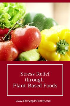 Calm down: How to lower stress levels through a plant-based diet